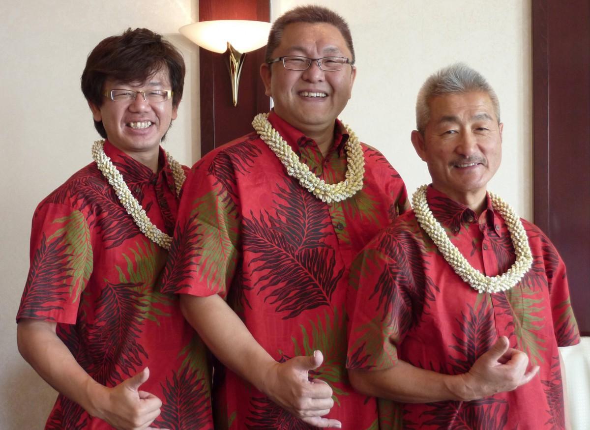 ハワイアンバンド Ka Wailele